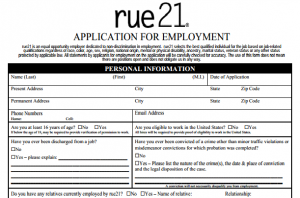 how to fill out job applications correctly